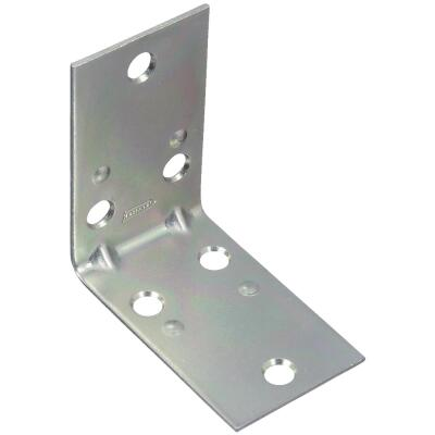 National Catalog V121 2-1/2 In. x 1-1/2 In. Double Wide Zinc Corner Brace