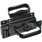 National Black Steel Swinging Door Latch Image 1
