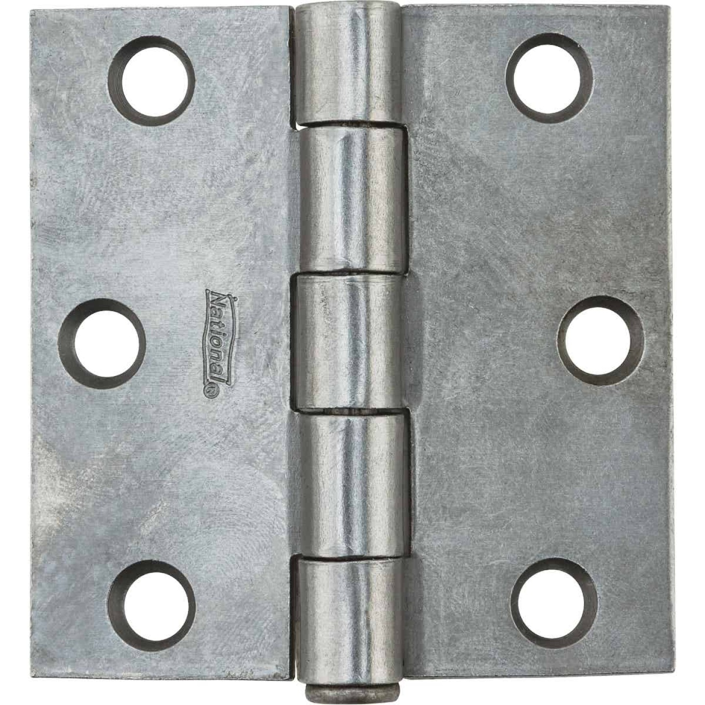 National 2-1/2 In. Square Plain Steel Broad Door Hinge Image 2