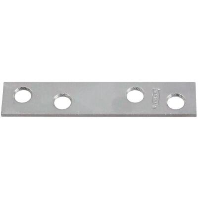 National Catalog 118 3 In. x 5/8 In. Zinc Steel Mending Brace (4-Count)
