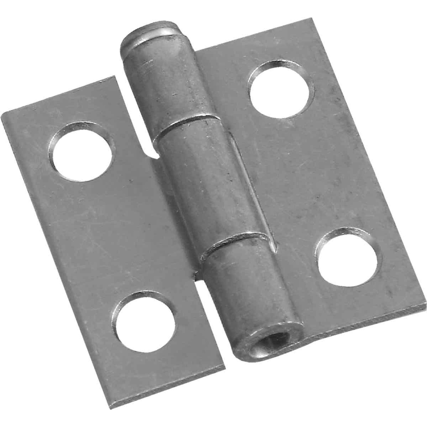 National 1 In. Zinc Loose-Pin Narrow Hinge (2-Pack) Image 1