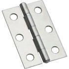 National 2-1/2 In. Zinc Tight-Pin Narrow Hinge (2-Pack) Image 1