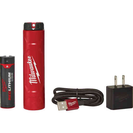 Milwaukee REDLITHIUM USB Rechargeable Battery & Charger Kit