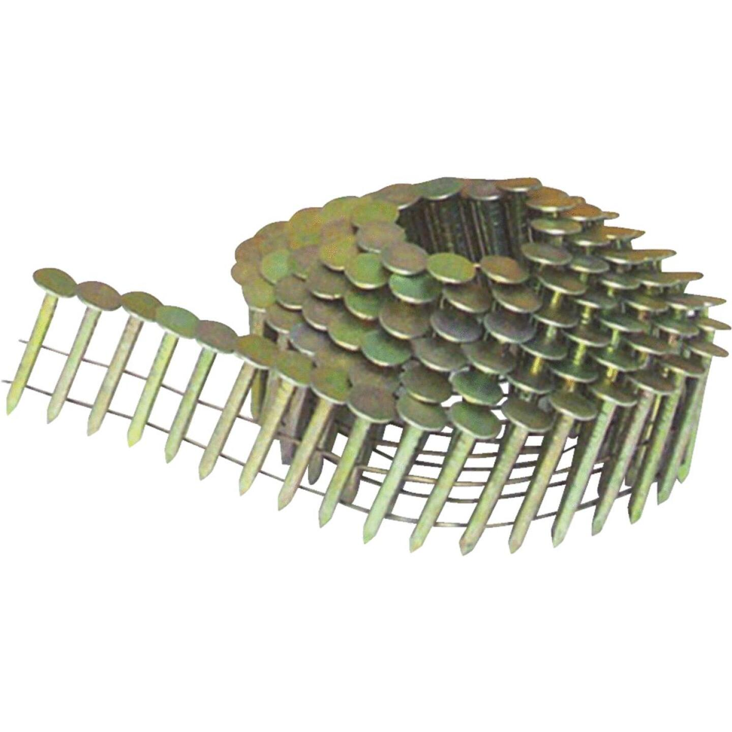 Bostitch 15 Degree Wire Weld Galvanized Coil Roofing Nail, 1-1/2 In. x .120 In. (7200 Ct.) Image 1