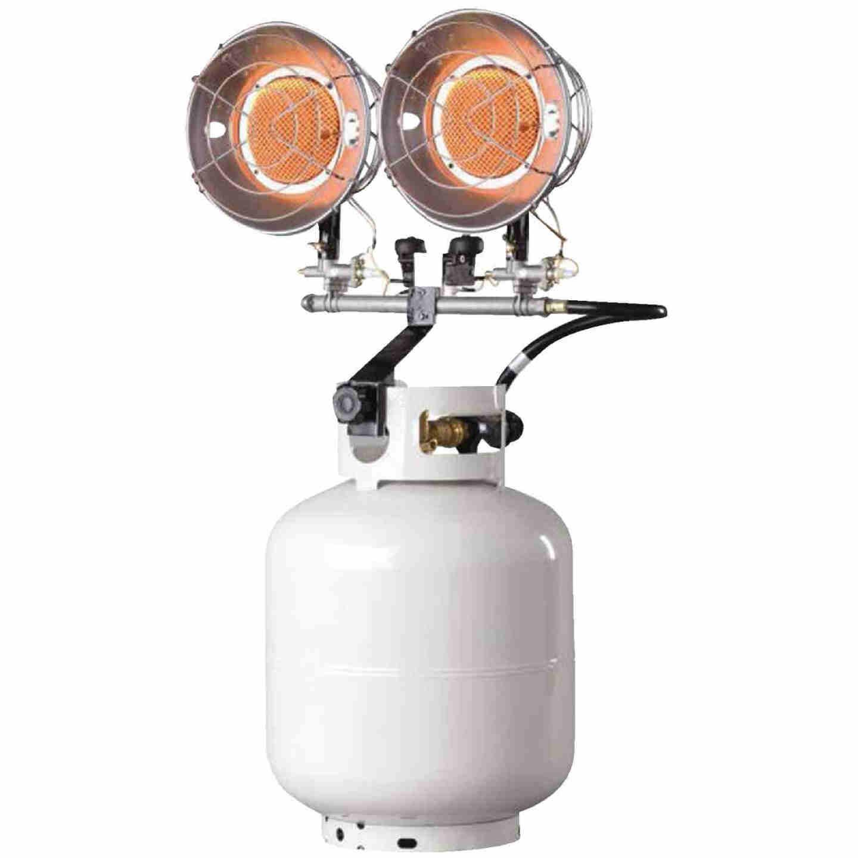 MR. HEATER 30,000 BTU Radiant Double Tank Top Propane Heater Image 1