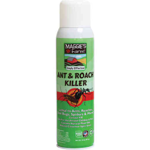Maggie's Farm 14 Oz. Aerosol Spray Ant & Roach Killer