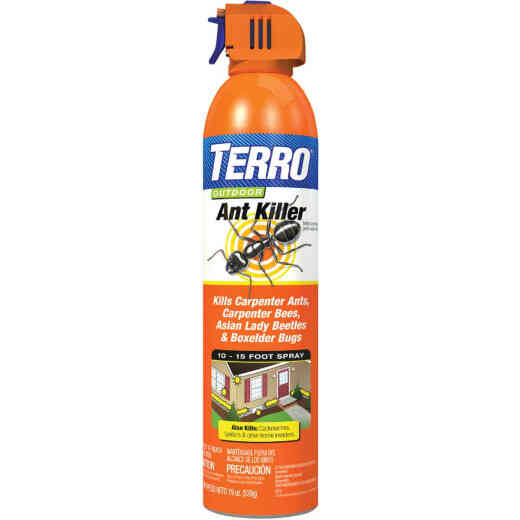 Terro 19 Oz. Aerosol Spray Outdoor Ant & Roach Killer