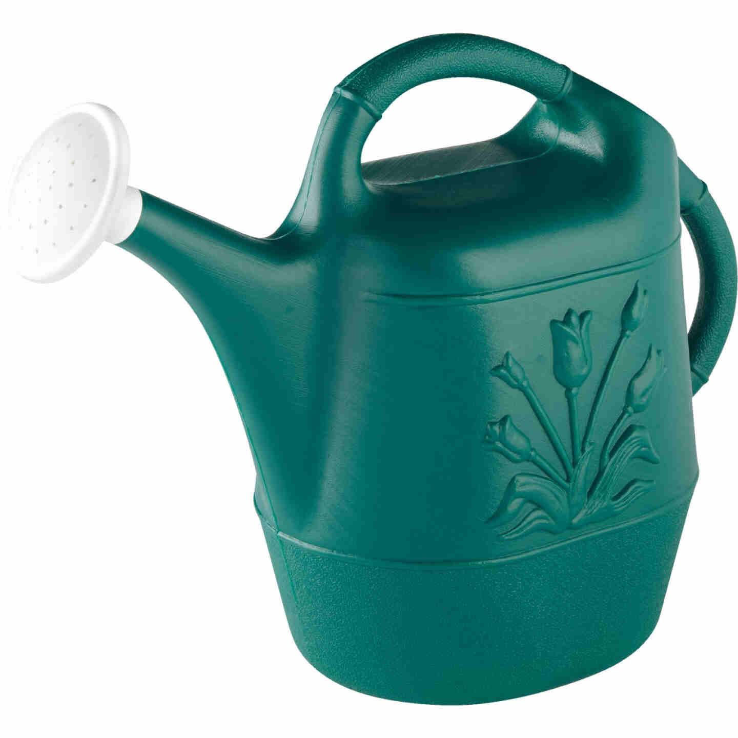 United Products 2 Gal. Hunter Green Poly Watering Can Image 3