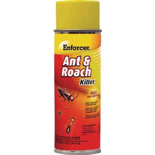 Enforcer 7 Oz. Aerosol Spray Ant & Roach Killer