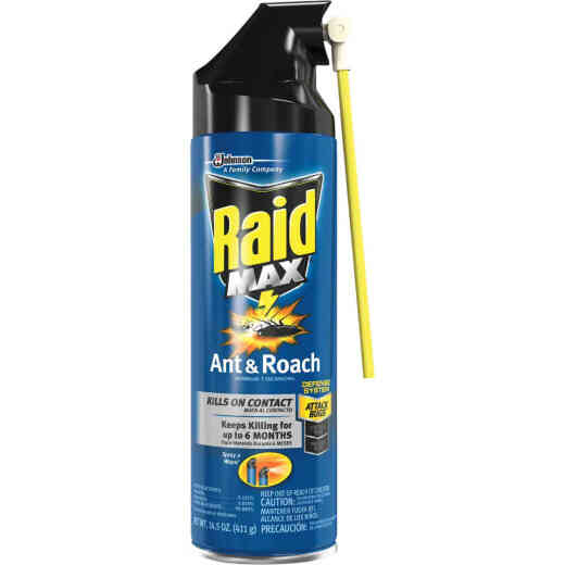 Raid Max 14.5 Oz. Aerosol Spray Ant & Roach Killer